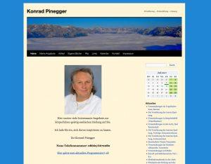 Konrad Pinegger Seminare