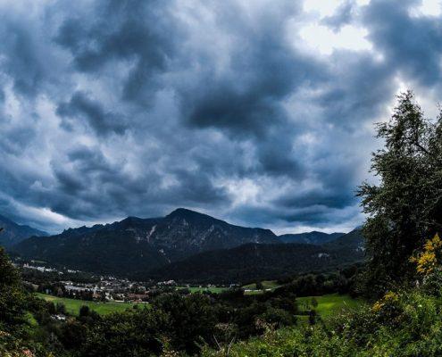 Wolken Predigtstuhl Untersberg Zeitraffer