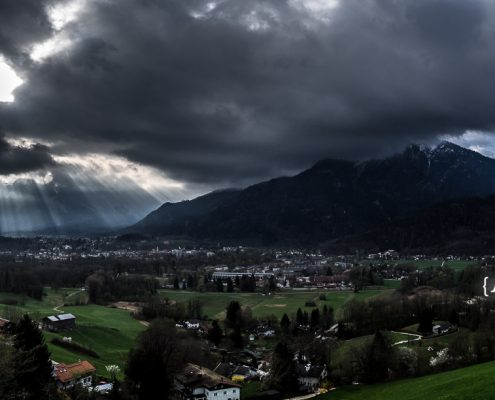 Predigtstuhl und Untersberg © Volker Lesch - Alpenland Fotografie