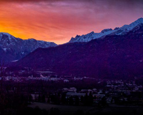 Untersberg und Predigtstuhl © Volker Lesch - Alpenland Fotografie